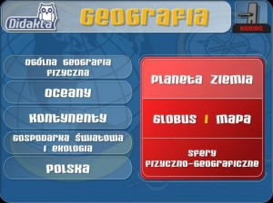 Didakta - Geografia program interaktywny